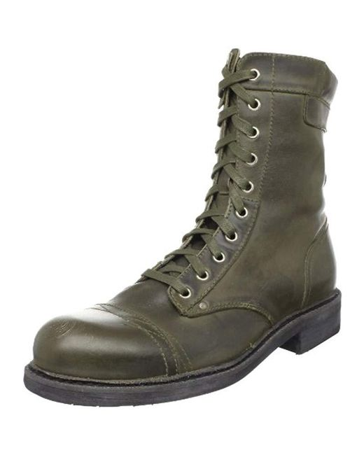 DIESEL Green Cassidy Boot for men