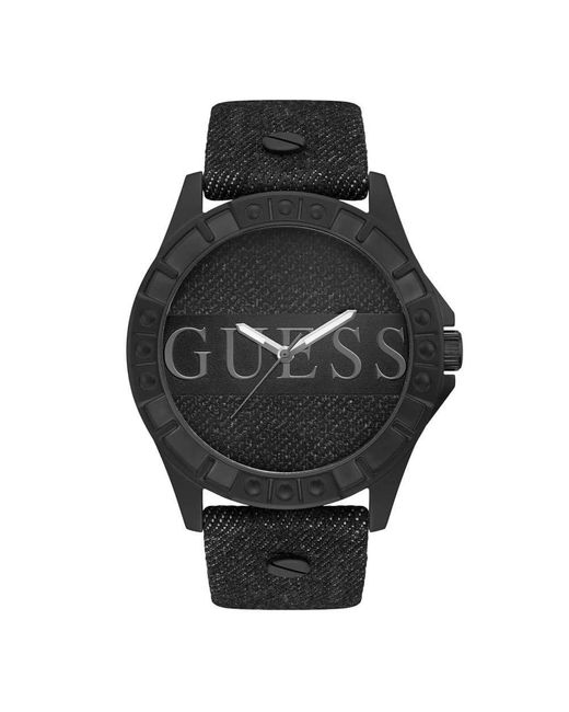 Guess Black Analogical W1241g1 for men