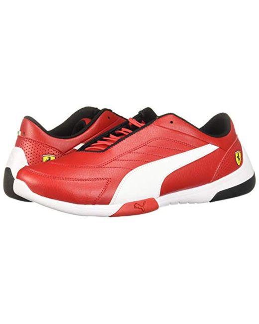 le dernier cd753 dbad3 Men's Red Ferrari Kart Cat Sneaker