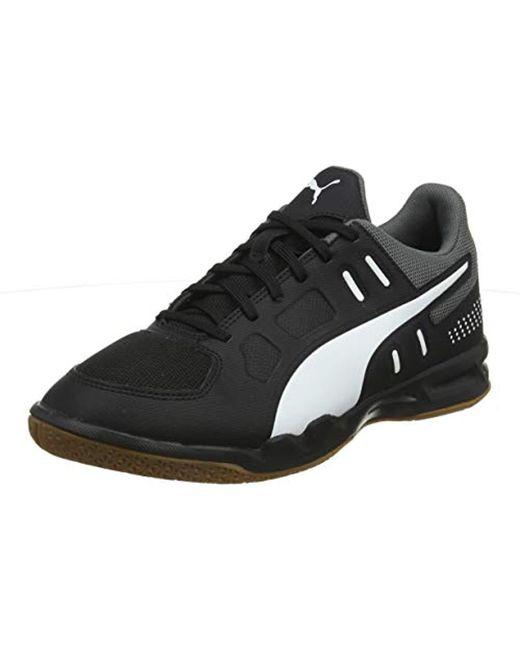 1d83dced98482 Men's Black Auriz Futsal Shoes