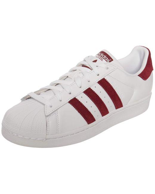 Superstar Chaussures DE Sport pour Blanc EF9240 43 13 EU adidas ...