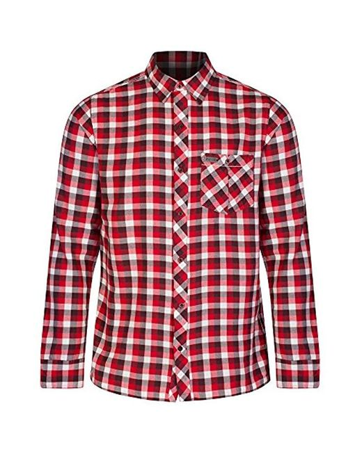 Regatta Multicolor S Lazka Check Pattern Coolweave Cotton Shirt for men