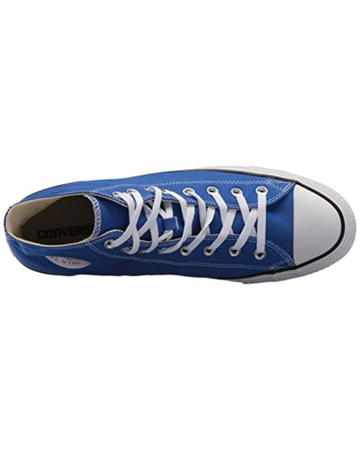 072dce7559deb3 ... Converse - Blue Chuck Taylor All Star Seasonal Canvas High Top Sneaker  - Lyst