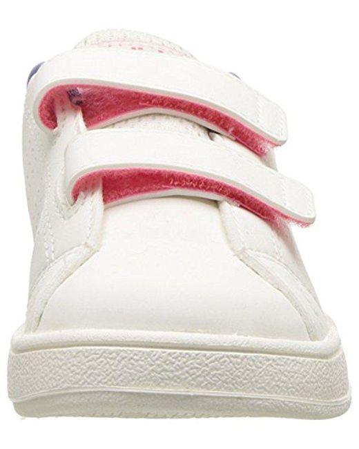 Lyst Adidas Kids' vs ventaja limpiar zapatilla en blanco