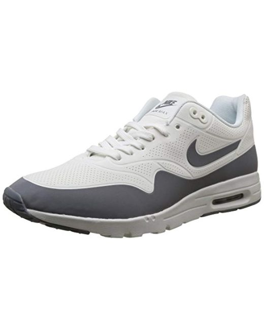 Women's Gray Air Max 1 Ultra Moire Training Running Shoes