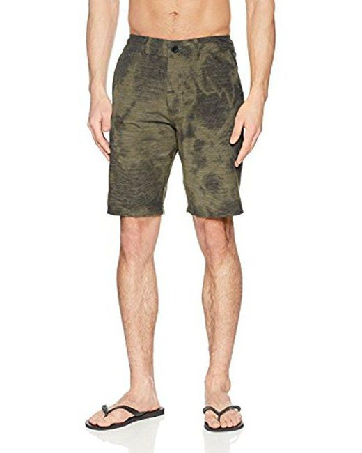 O'neill Sportswear - Green Locked Hybrid Short for Men - Lyst