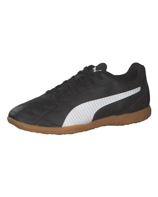 PUMA Black Monarch Ii It Soccer Shoe for men