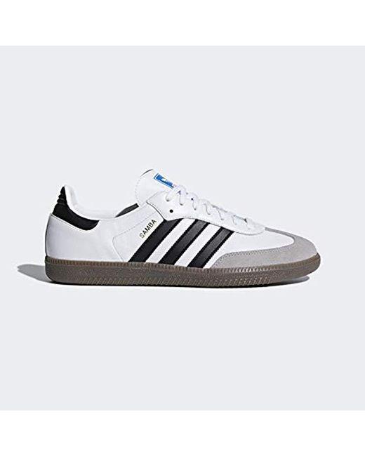 Adidas Originals Gray Samba Soccer Shoes Lyst