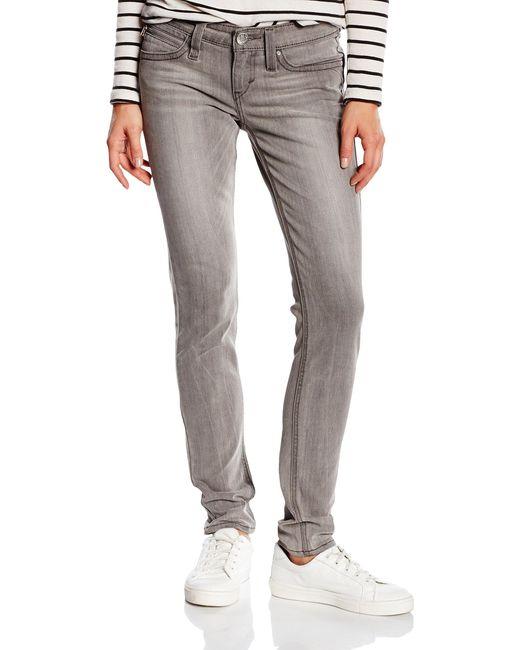 Levi's Gray Revel Low Dc Skinny Jeans