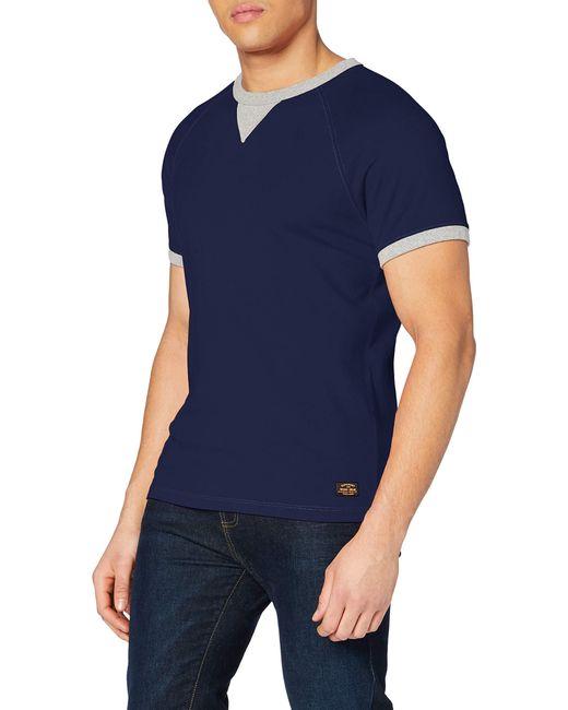 Narrative Ringer tee Camiseta Superdry de hombre de color Blue
