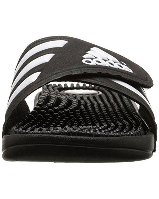 Adissage Lyst Adidas sandalia, RUN blanco / Graphite / White, 10 m