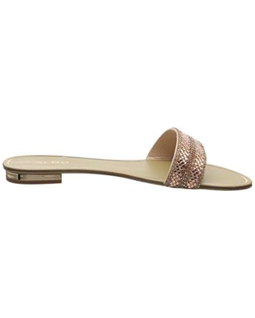 9199c2e79 aldo-designer-Gold-New-Rosegold-86-Cadilinnaw-Open-Toe-Sandals.jpeg