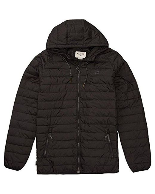 Billabong - Black Escape Jacket for Men - Lyst