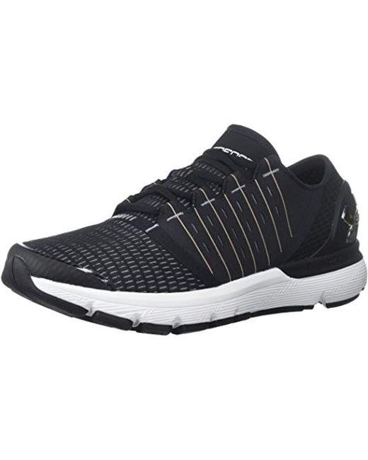 Under Armour Black S Speedform Europa Running Shoes-m Speedform Europa for men