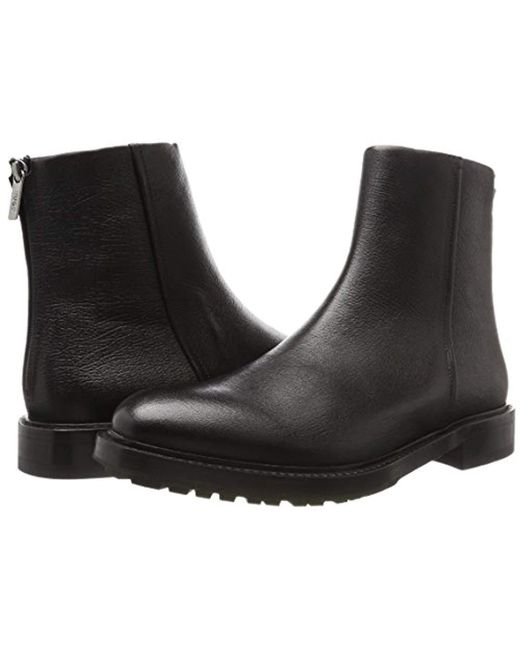 1a512799591 HUGO Defend_zipb_gr 10201465 01 Classic Boots in Black for Men - Lyst