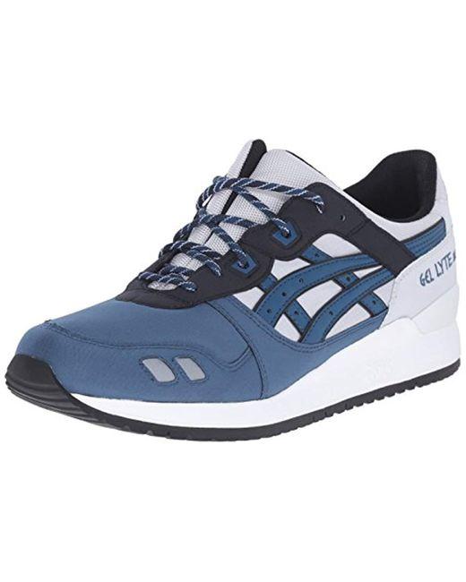 watch 146ca ed826 Asics - Gray Gel-lyte Iii Retro Sneaker for Men - Lyst ...