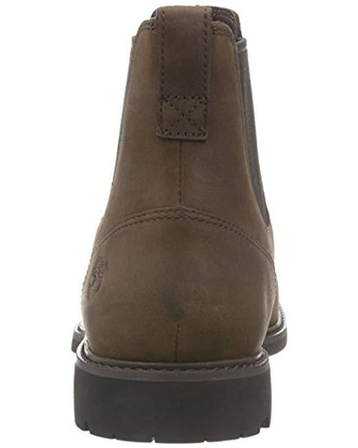 7e134d89a6d Men's Brown Stormbuck Pull-on, Chelsea Boots