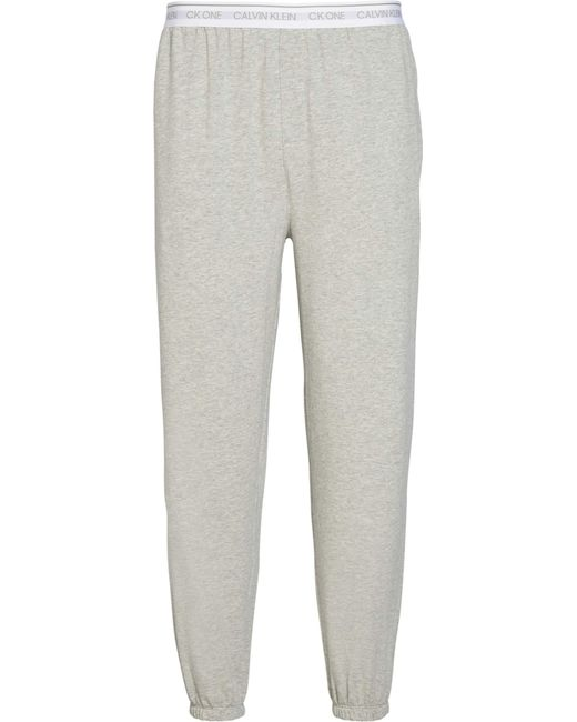 Jogger Bas De Pyjama Calvin Klein pour homme en coloris Gray