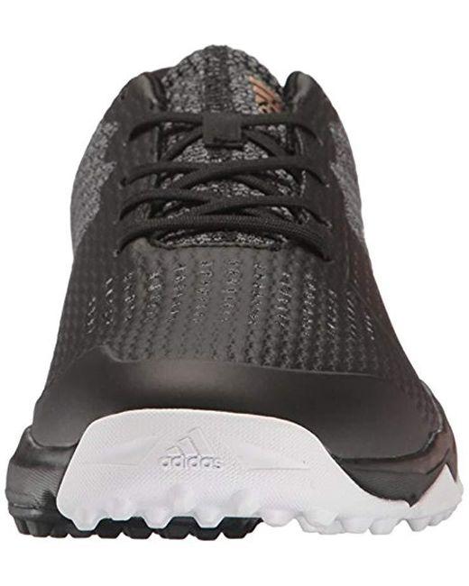 adidas Men's Adipower S Boost 3 Golf Shoe, Black, 10.5 M US