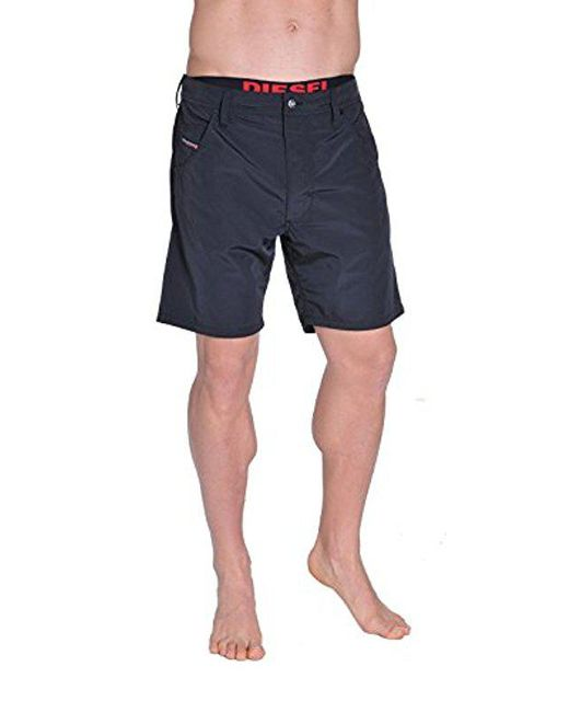 DIESEL - Black Kroobeach Hybrid Swim Short for Men - Lyst