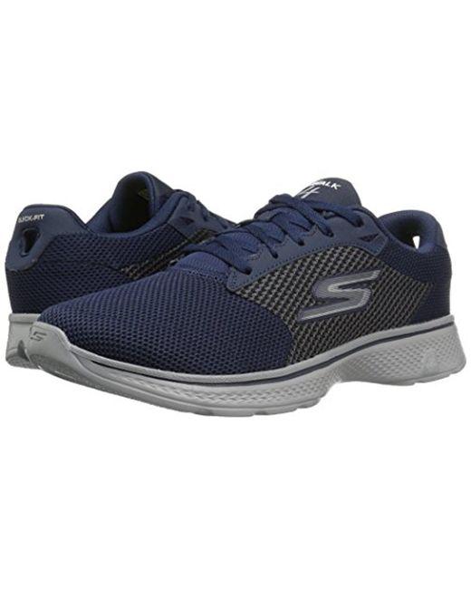 c6e68c35c078e Men's Blue Performance Go Walk 4 Lace-up Walking Shoe