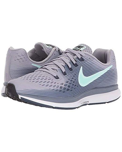 Nike  s Air Zoom Pegasus 34 Running Shoes White blue in Blue for Men ... c7481b6d068c0