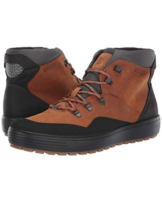 2a326869 Ecco Soft 7 Tred M Hi-top Trainers in Brown for Men - Lyst