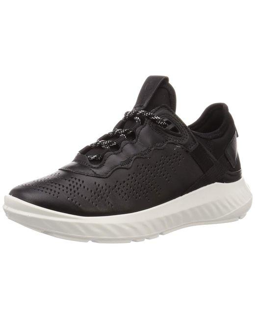 Ecco Black ST.1LITEW Sneaker
