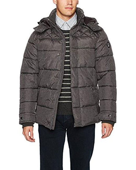 Ben Sherman - Gray Bomber Jacket for Men - Lyst
