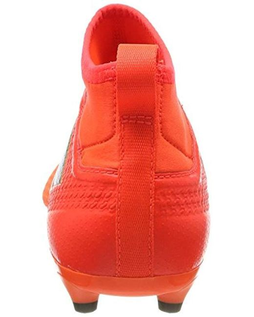 adidas Synthetic Ace 17.3 Fg Football Shoes in Orange for