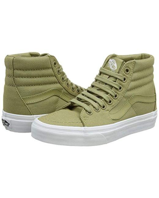 cb589614245619 Vans Unisex Adults  Sk8-hi Hi-top Trainers in Green for Men - Lyst
