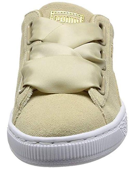 bcf5b74e0e5 ... PUMA - Natural Suede Heart Safari Low-top Sneakers - Lyst ...