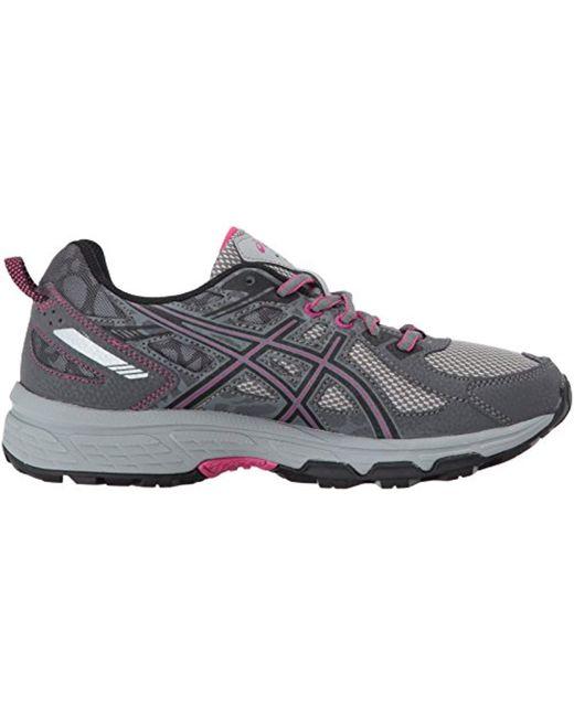 Asics Synthetic Gel venture 6 Running Shoe, Carbonblack
