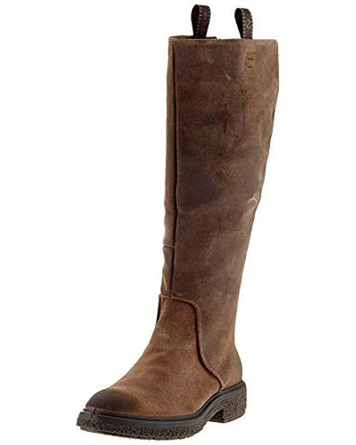online store fd6b4 13645 Women's Brown Crepetray Hybrid L High Boots