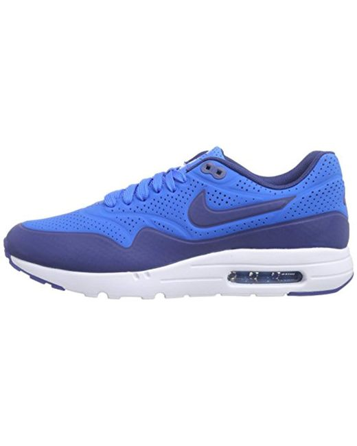 Nike Air Max 1 Ultra Moire, Trainers in Blue for Men Save