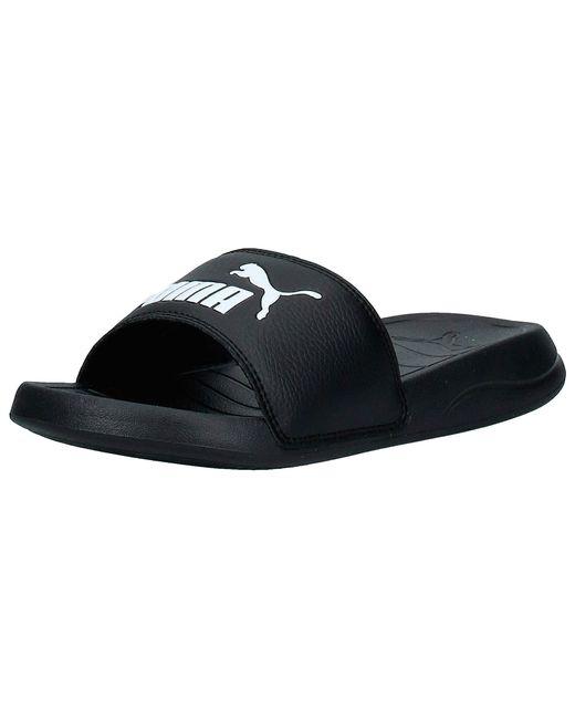 PUMA Black Popcat 20 Zapatos de Playa y Piscina