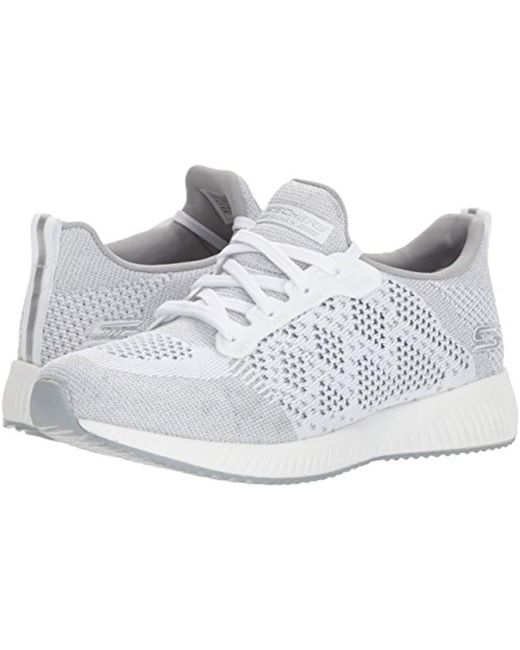 bf5829bbc57 Skechers 31368 Slip On Trainers in White - Save 51% - Lyst