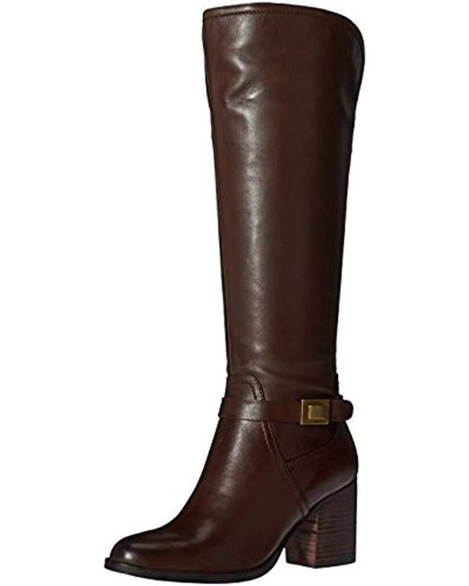 76b78f03826d Franco Sarto Arlette Riding Boot in Brown - Save 57% - Lyst