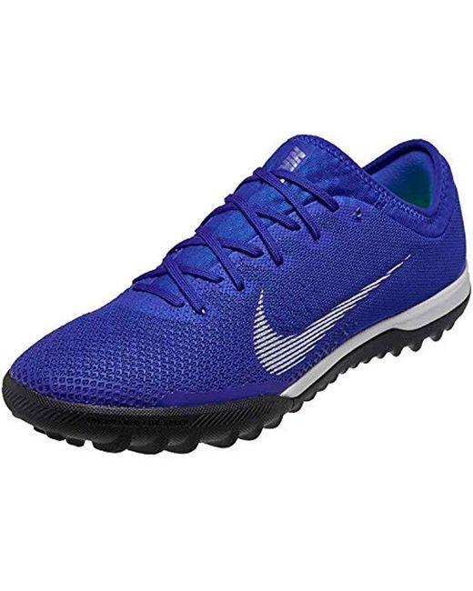 premium selection 5e44a c5213 Men's Mercurialx Vapor 12 Pro Tf Soccer Shoe (racer Blue) ( 7.5/ 9)