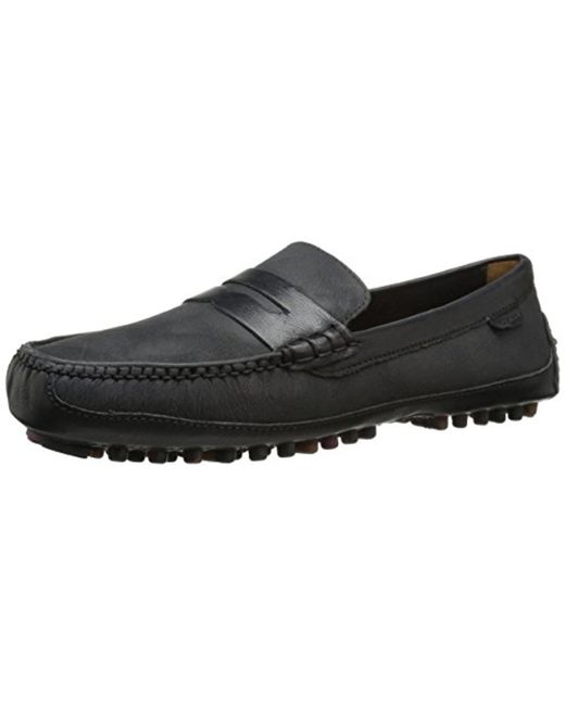 Cole Haan - Black Grant Canoe Penny Loafer for Men - Lyst