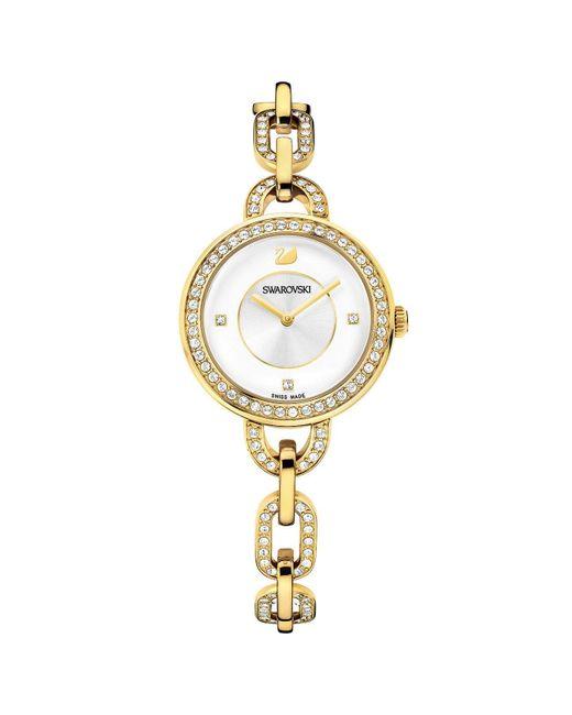 Orologio Analogueico Quarzo Donna con Cinturino in Acciaio Inox 1124151 di Swarovski in Metallic