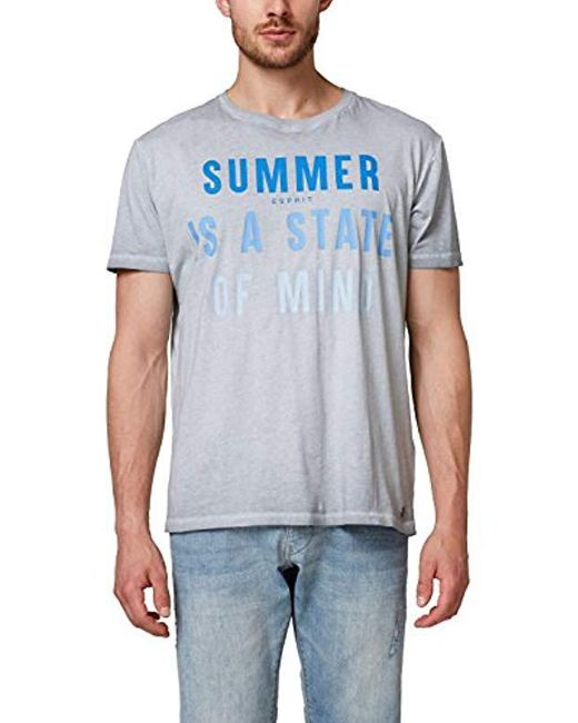 Esprit Gray T-shirt for men