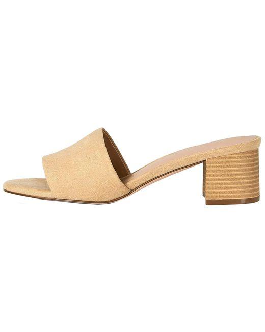 FIND Natural Amazon-Marke: Block Heel Mule Offene Sandalen