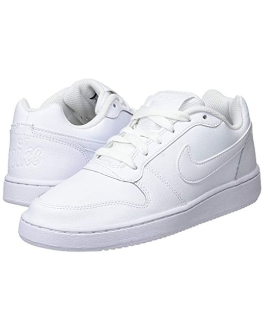 Save Nike White Ebernon Shoes Low Basketball In 13Lyst lFuJTK1c3