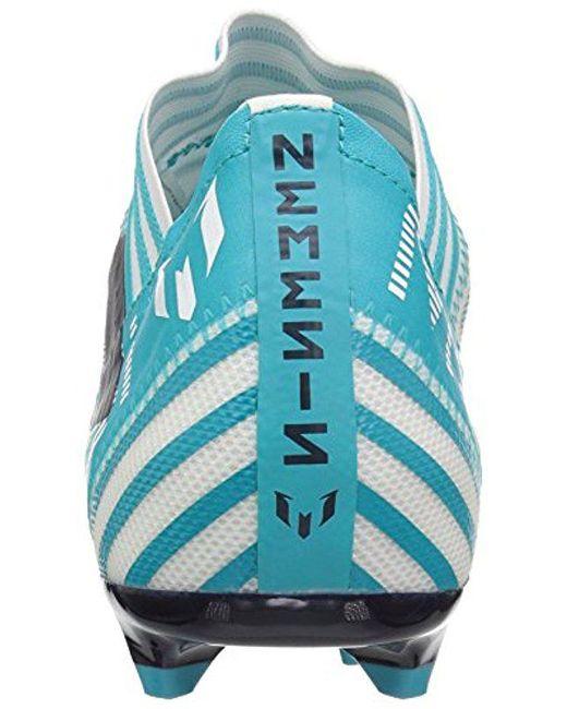 3922e3ef5 ... Adidas - Blue Nemeziz Messi 17.2 Fg Soccer Shoe for Men - Lyst ...