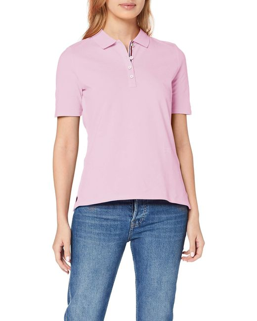 Tommy Hilfiger Pink TH Essential Regular Polo SS Poloshirt