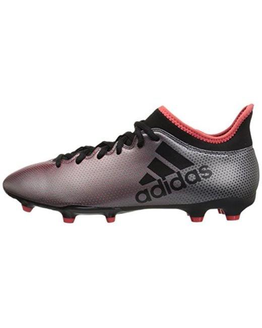 reputable site 1819b 45cbe Men's X 17.3 Fg Soccer Shoe,tactile Gold/core Black/solar Red,13.5 M Us