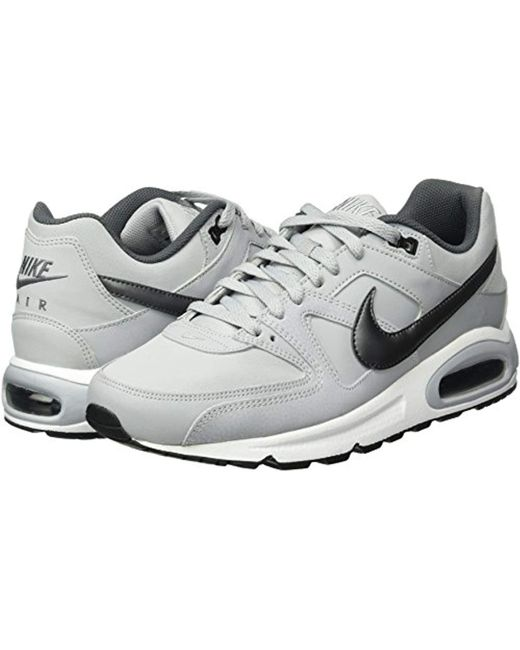 9a6eefea0978 ... Nike - Gray Air Max Command Leather Multisport Outdoor Shoes for Men -  Lyst ...