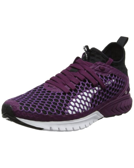 PUMA Purple Damen Ignite Dual Netfit Outdoor Fitnessschuhe