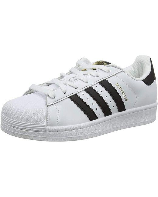 Blanc / noir / Adidas en coloris Multicolor